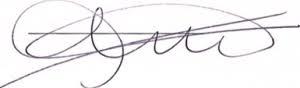 Handtekening Marijke Knol